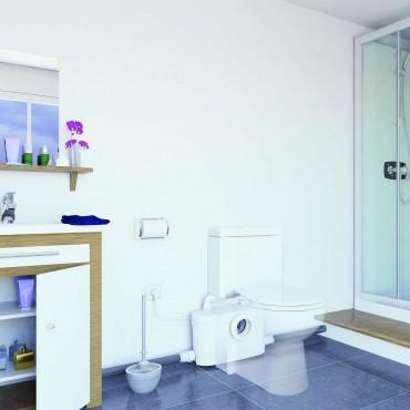 Ein zusätzliches Badezimmer installieren, anzuschließende Geräte ...