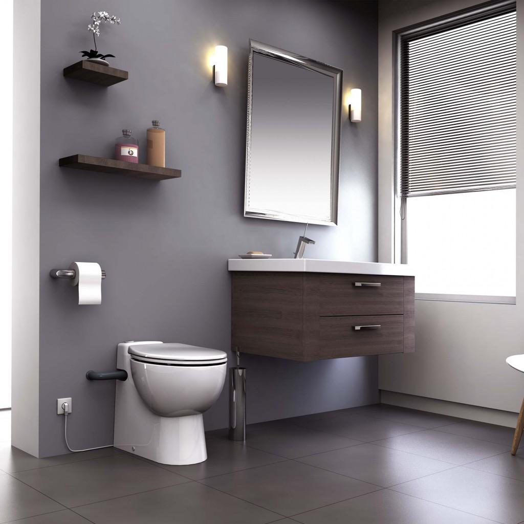 Mit leistungsstarken Kompakt WCs zum nachträglich eingebauten Bad